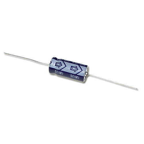 Picture of TLB2A470MCA1LZ NICHICON capacitor 47uF 100V Aluminum Electrolytic Axial