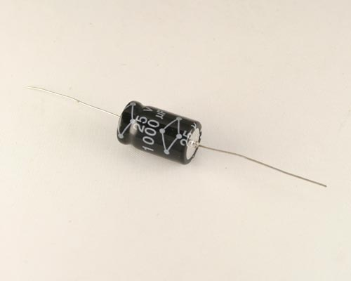 Picture of MCLV102M1EB BYAB capacitor 1,000uF 25V Aluminum Electrolytic Axial