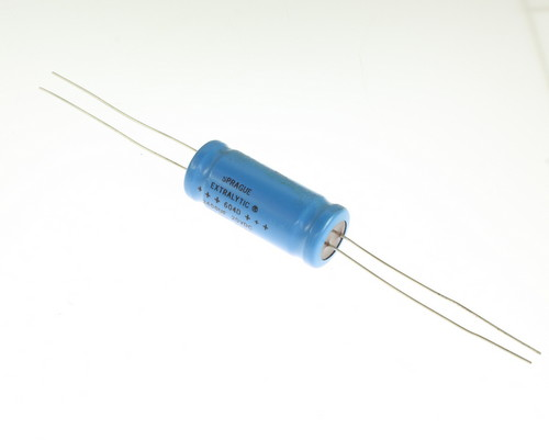 Picture of 604D242G020HL6 SPRAGUE capacitor 2,400uF 20V Aluminum Electrolytic Axial High Temp