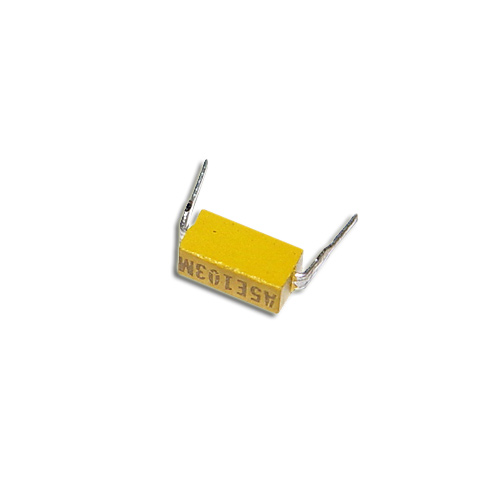 Picture of MD015E103MAA AVX capacitor 0.01uF 50V Ceramic Dip Guard