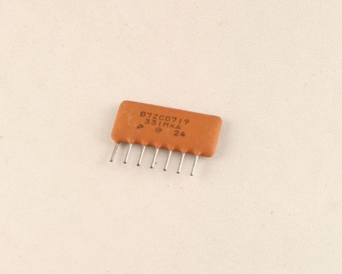 Picture of B7ZC0719-33N MURATA capacitor 330pF 50V  Network