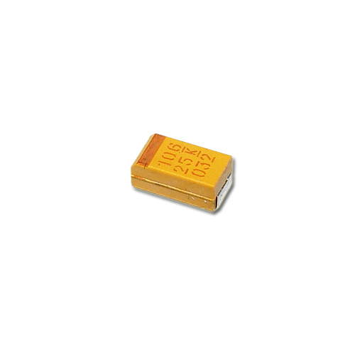 Picture of T491C106K025AS KEMET capacitor 10uF 25V Tantalum Surface Mount