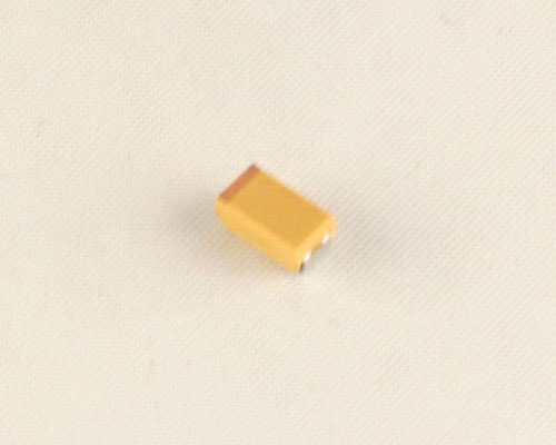 Picture of TAJC685K016S AVX capacitor 6.8uF 16V tantalum surface mount