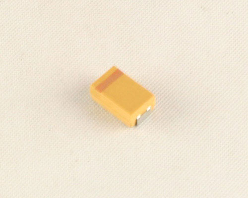 Picture of T491D106M016AS Kemet capacitor 10uF 16V Tantalum Surface Mount