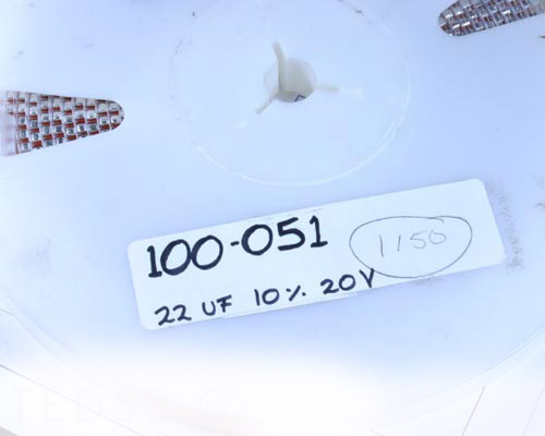 Picture of 195D226X9020Z SPRAGUE capacitor 22uF 20V Tantalum Surface Mount