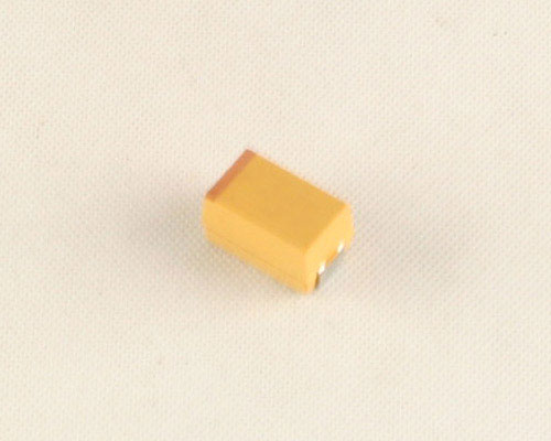 Picture of 293D106X9050E2T Sprague capacitor 10uF 50V Tantalum Surface Mount