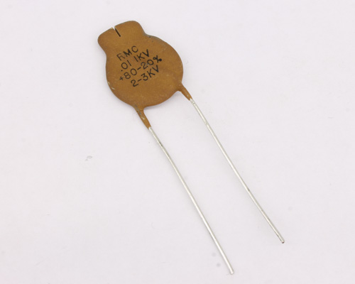 Picture of AT103A RMC capacitor 0.01uF 1000V Ceramic Disc