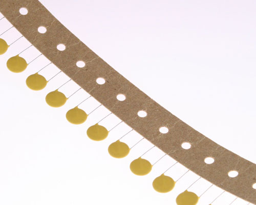 Picture of D152K39X5FLTEEC CRL capacitor 0.0015uF 600V Ceramic Disc