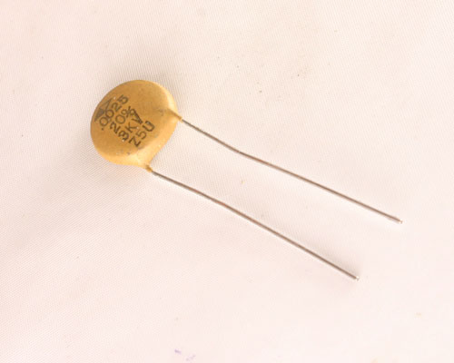 Picture of DD30-252 CRL capacitor 0.0025uF 3000V Ceramic Disc