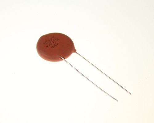 Picture of 60GAD47 SPRAGUE capacitor 0.0047uF 6000V Application High Voltage