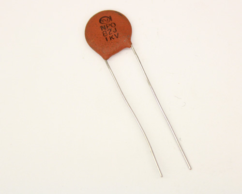 Picture of 10TCCQ82-OS SPRAGUE capacitor 82pF 1000V Ceramic Disc