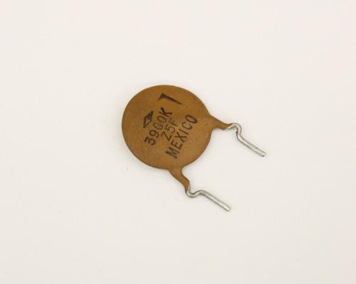 Picture of DD-392 PHILIPS capacitor 0.0039uF 1000V Ceramic Disc