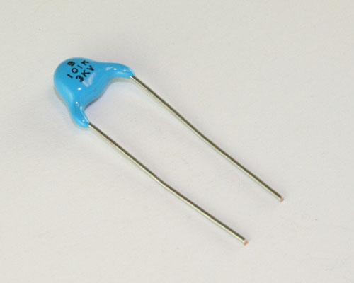 Picture of HC-YB3F101KDB SAMSUNG capacitor 100pF 3000V Ceramic Disc