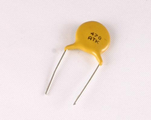 At kchck avx capacitor pf v ceramic disc