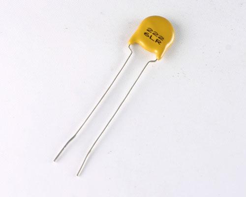 Picture of 6LR222KNJEA AVX capacitor 0.002uF 1000V ceramic disc