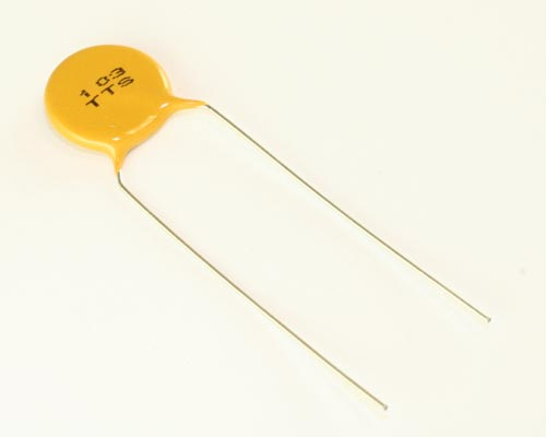 Picture of 5TT103SPMEA AVX capacitor 0.01uF 3000V Ceramic Disc