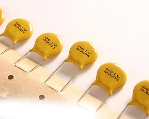 Picture of 61V332MCJEA AVX capacitor 0.0033uF 250V Ceramic Disc