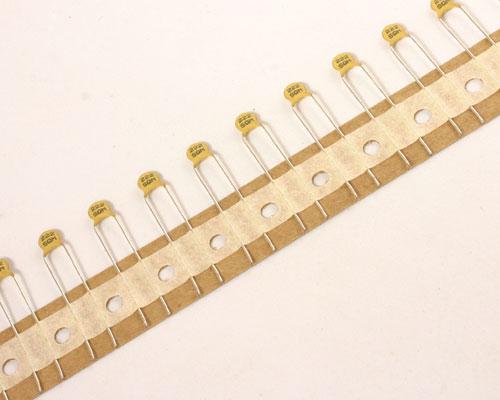 Picture of 5SQ222MADHA AVX capacitor 0.002uF 500V ceramic disc
