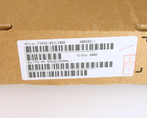 Picture of 5MQ221KAAAK AVX capacitor 220pF 500V Ceramic Disc