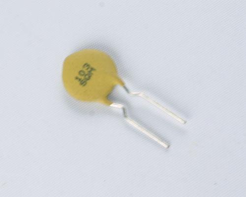 Picture of 5SQ103MOHAC AVX capacitor 0.01uF 500V ceramic disc