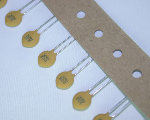 Picture of 5NK222KDEAH AVX capacitor 0.002uF 100V ceramic disc