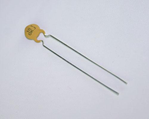 Picture of 5GK101KJODFA AVX capacitor 100pF 100V Ceramic Disc