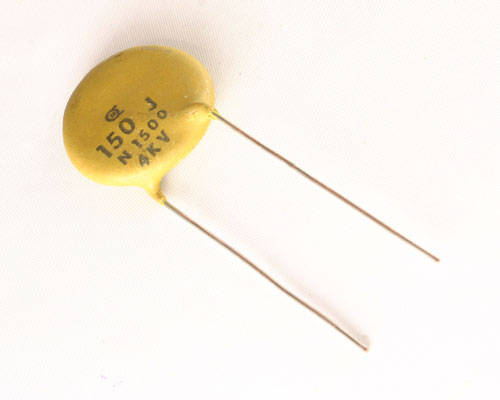Cd151j4kv 9n1500 Dielectron Capacitor 150pf 4000v Ceramic