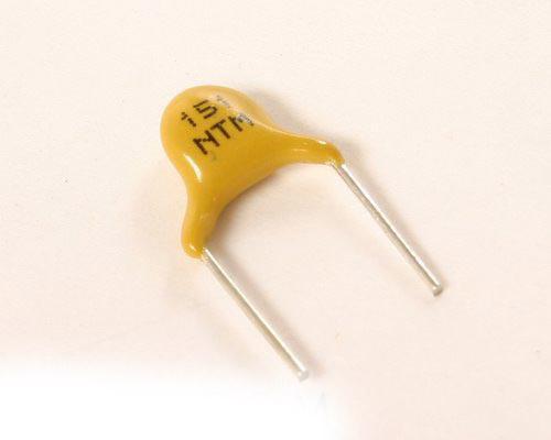 Picture of 5NT151MBBEC AVX capacitor 150pF 3000V Ceramic Disc