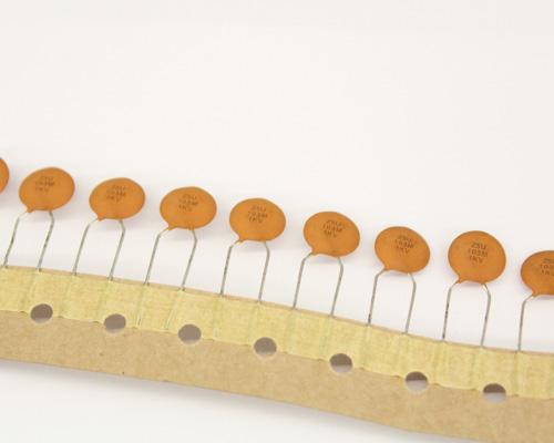 Picture of NCD103M1KVZ5UTR.250 NIC capacitor 0.01uF 1000V Ceramic Disc