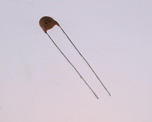 Picture of 2DDH60L101MAV PHILIPS capacitor 100pF 500V Ceramic Disc