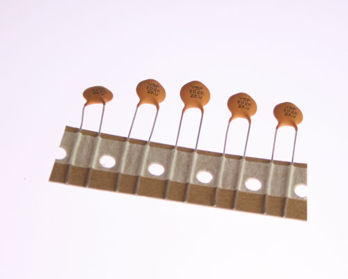 Picture of CDR202P5-102K-TB-RC XICON capacitor 0.001uF 2000V Ceramic Disc