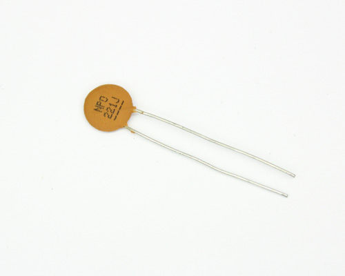 Picture of 140-50N5-221J-TB-RC XICON capacitor 220pF 50V Ceramic Disc
