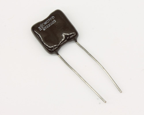 Picture of CM07FD822GO3 SANGAMO capacitor 0.0082uF 500V Silver Mica Dipped