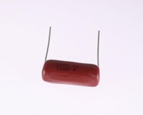 Picture of POR1K5D68I000 FARAD capacitor 0.0068uF 1500V FILM POLYPROPYLENE RADIAL