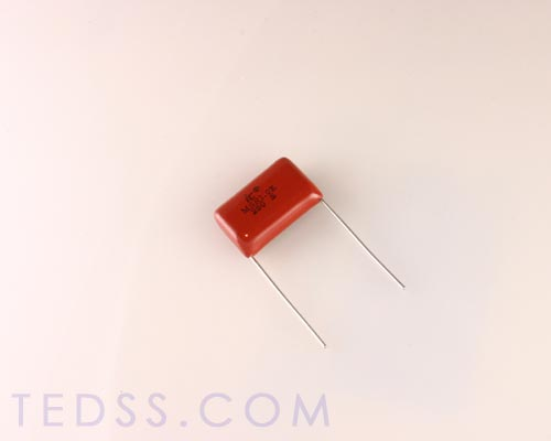 Picture of 105MSR250K ILLINOIS CAPACITOR capacitor 1uF 250V Film Metallized Polyester Radial