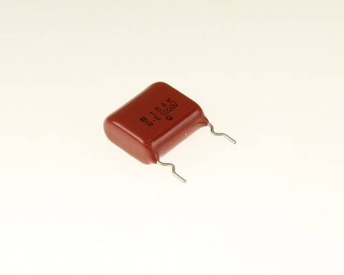 Picture of ECQE10104KEX PANASONIC capacitor 0.1uF 1000V Film Metallized Polyester Radial