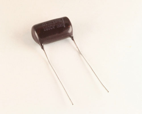 Picture of DPMS-16S1 CDE capacitor 0.01uF 1600V Film Polyester-Kraft Radial