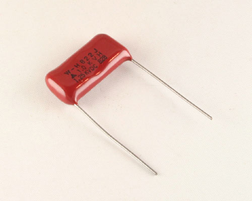 Picture of ECW-H-125KV-822J PANASONIC capacitor 0.0082uF 1250V Film Polypropylene Radial