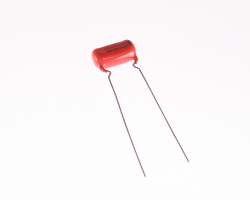 Picture of 10PSD20 SPRAGUE capacitor 0.002uF 1000V Film Polyester Radial