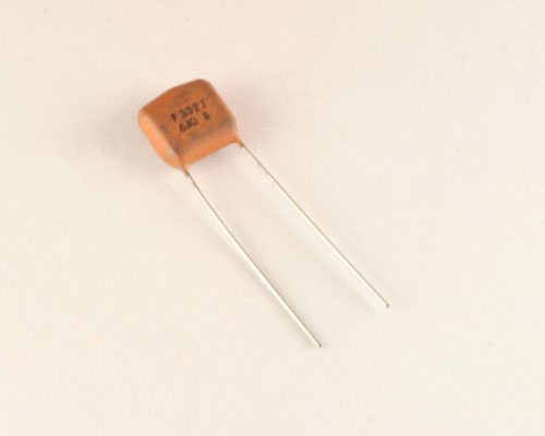 Picture of RFC332J630 TE capacitor 0.0033uF 630V Film Polypropylene Radial