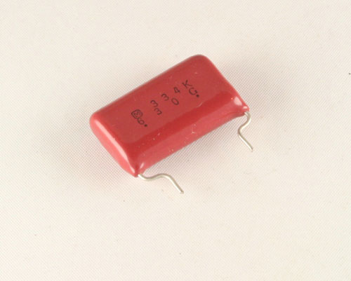 Picture of ECQE6334KFB PANASONIC capacitor 0.33uF 630V Film Polypropylene Radial