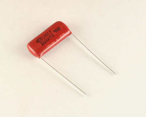 Picture of PPS-102J1600DB HJC capacitor 0.001uF 1600V Film Polypropylene Radial