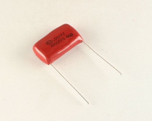 Picture of PPS-272J1600DB HJC capacitor 0.0027uF 1600V Film Polypropylene Radial