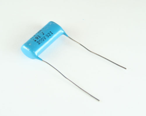 Picture of 914J02HA1400L1 ITW-PAKTRON capacitor 0.91uF 200V Film Metallized Polycarbonate Radial