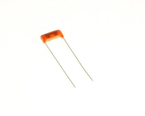 Picture of 225P10392XA3 Cornell Dubilier (CDE) capacitor 0.01uF 200V Film Polyester Radial
