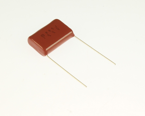 Picture of ECQE1685JF Panasonic capacitor 6.8uF 100V Film Metallized Polyester Radial