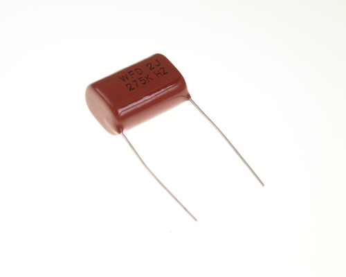 Picture of ECWFD2J275K PANASONIC capacitor 2.7uF 630V Film METALLIZED POLYPROPYLENE Radial