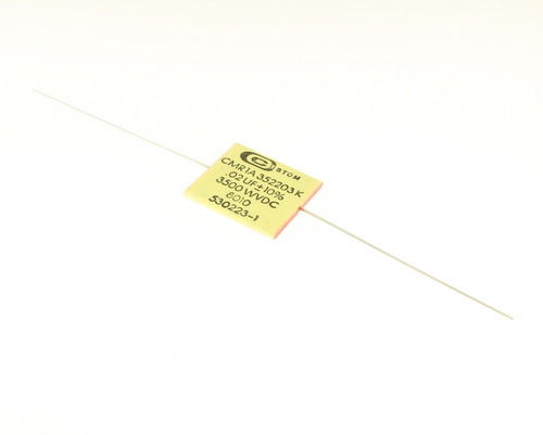Picture of CMR1A352203K CUSTOM capacitor 0.02uF 3500V Film Polyester Axial