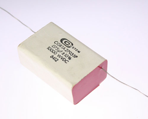Picture of CGR1A2793SP CUSTOM capacitor 0.075uF 10000V Film Metallized Paper Axial