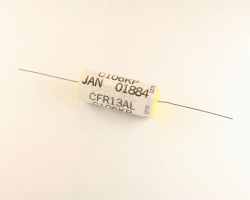 Picture of CFR13ALC106KP SPRAGUE capacitor 10uF 200V Film Metallized Polypropylene Axial